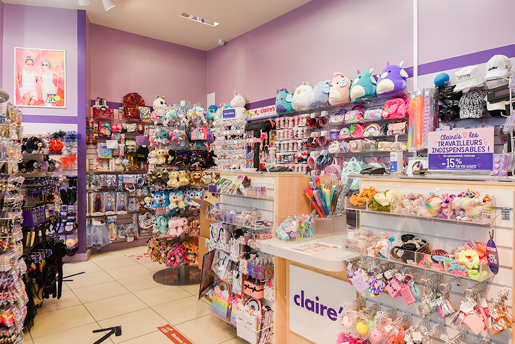 Rayon magasin Claire's