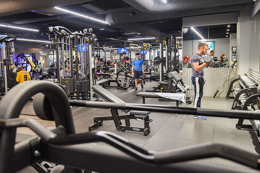 Machines de musculation Fitness Park